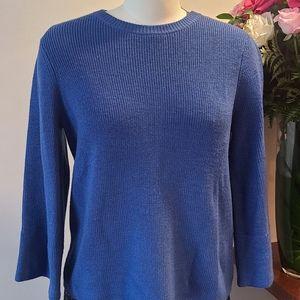 Eileen Fisher XS Blue Sweater